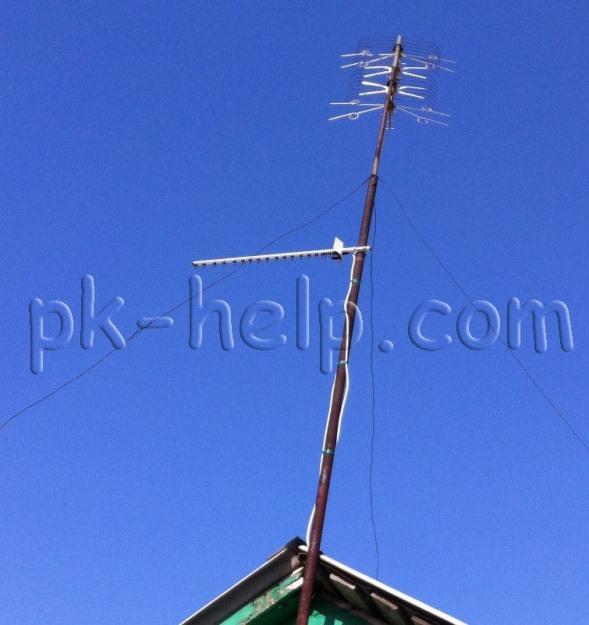 Фото Установка 3G антенны на мачту