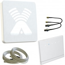 Комплект AGATA-F MIMO 2x2 и 3G/ 4G Wi-Fi роутер
