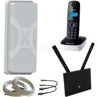 Комплект Huawei B315 + радиотелефон + антенна