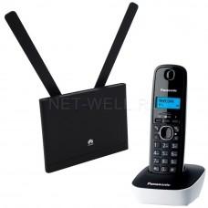 Комплект Huawei B310 + радиотелефон