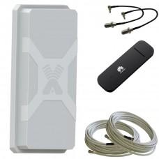 Комплект Nitsa 5F MIMO + USB модем Huawei e3372