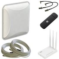 Комплект Petra BB 75 MIMO + USB модем + Wi-Fi роутер