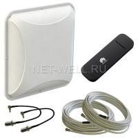 Комплект Petra BB 75 MIMO + USB модем Huawei e3372