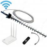 3G/ 4G комплект 21 dB с USB модемом и Wi-Fi роутером