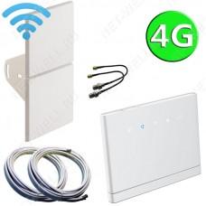 4G комплект 2х14 со стационарным 3G/4G Wi-Fi роутером