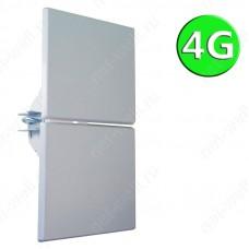 4G MIMO антенна 2x14 dB