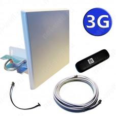 3G комплект 14 dB (3G антенна, кабели и 3G/ 4G модем).