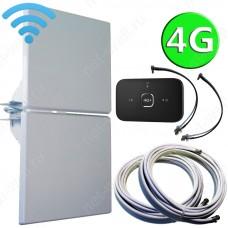 4G комплект 2х14 с мобильным Wi-Fi роутером