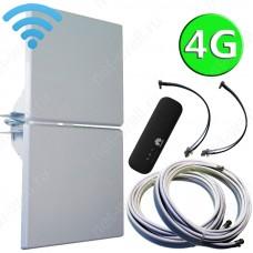 4G комплект 2х14 с мобильным USB Wi-Fi роутером