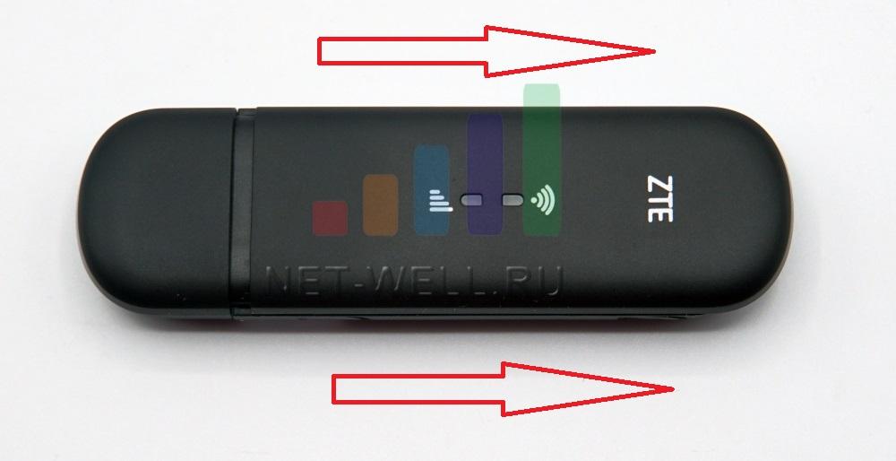Снять крышка на USB модеме