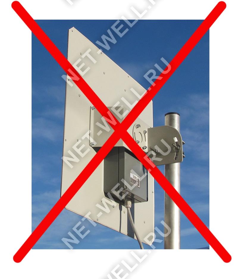 3G 4G антенна без гермобокса