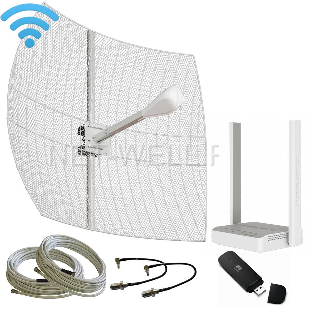Комплект 3G/ 4G с Wi-Fi роутером