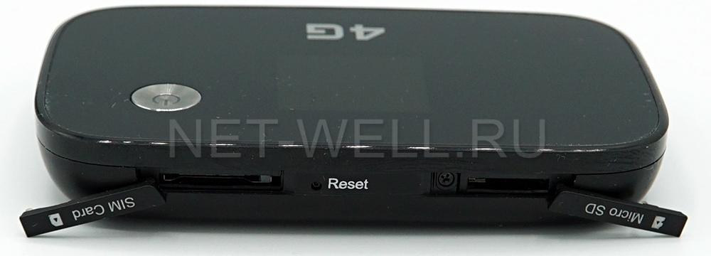 Слот сим карты на Huawei e5573